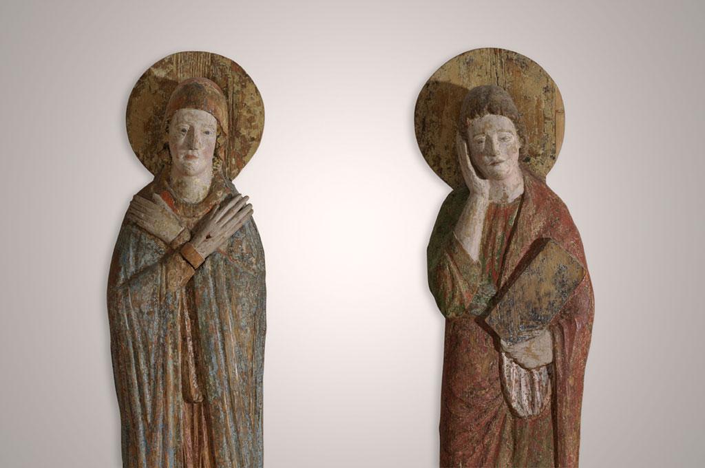 Maria und Johannes