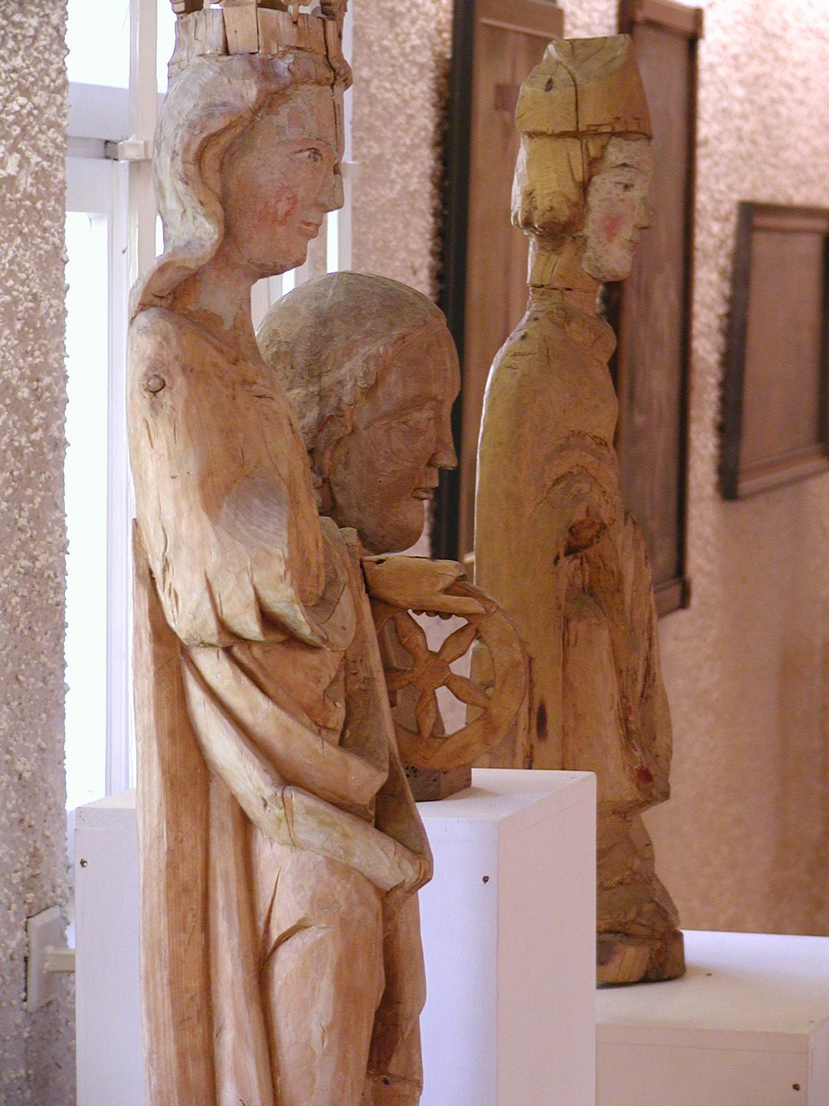 Skulpturen aus Mistelbrunn